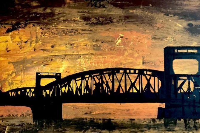 Hubbrücke - 70x120 cm